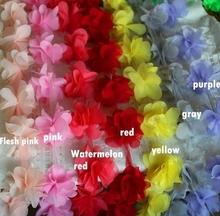 8Yd / серия 13 цвет 3D шифон цветы кружевной ткани, Ручной цветок свадебные букеты обувь цветок корсаж свадебные аксессуары RS320