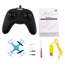 2015 hot 2.4GHz 4CH 6Axis x6 Gyro Mini Quadcopter Drone UFO remote-control Helicopter aircraft Blue