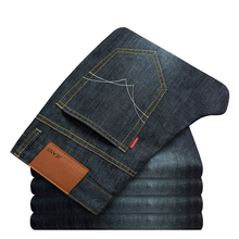 Men Summer Fashion Jeans Causual Pants Lightweight Straight Full lengthJeans New Brand Plus size Mid waist Loose High Quality