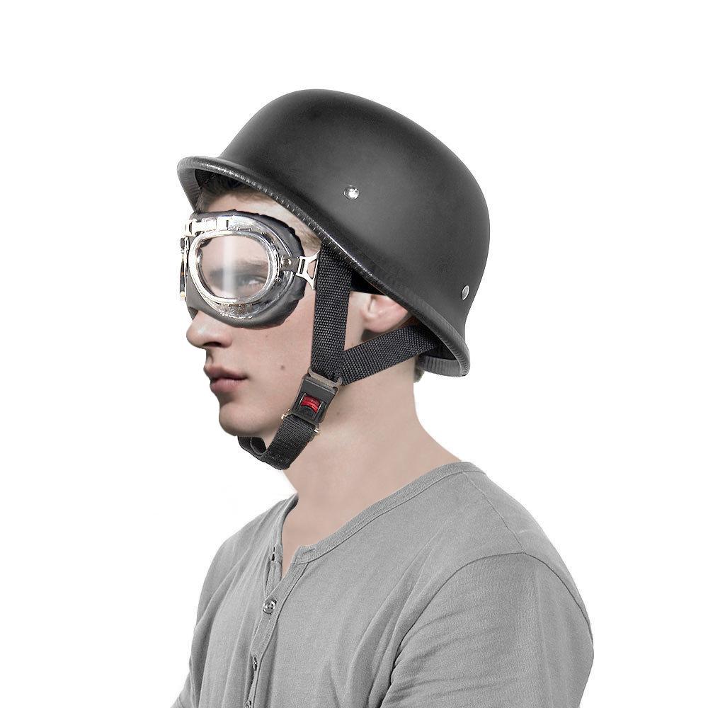 Motorcycle Half Open Face Helmet Matt Black Protection Shell Helmet for Scooter Bike(China (Mainland))