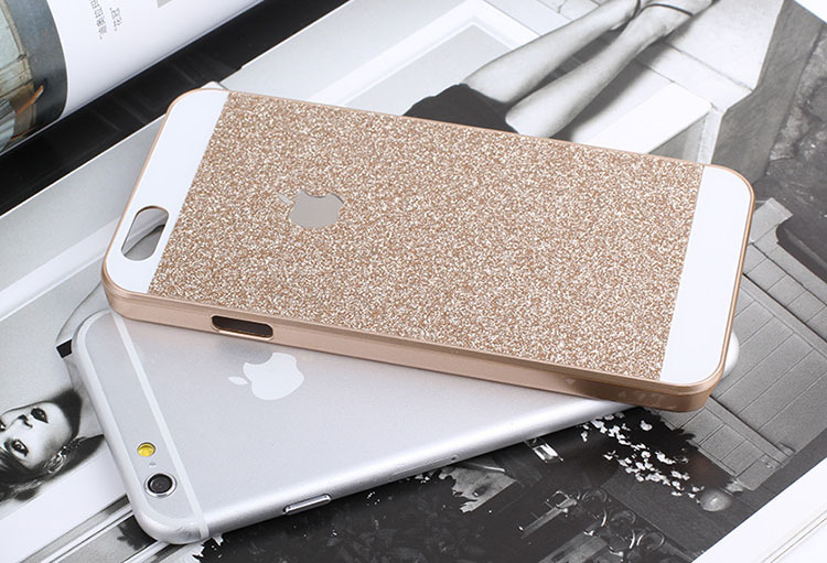 """Luxury Hot Bling Logo phone case for iPhone 6 4.7"""" 5 5S Shinning back cover Sparkling case for iPhone 6 Plus(China (Mainland))"""