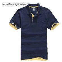 플러스 사이즈 XS-3XL 브랜드 뉴 남성 폴로 셔츠 고품질 남성면 반팔 셔츠 브랜드 유니폼 여름 남성 티셔츠(China)