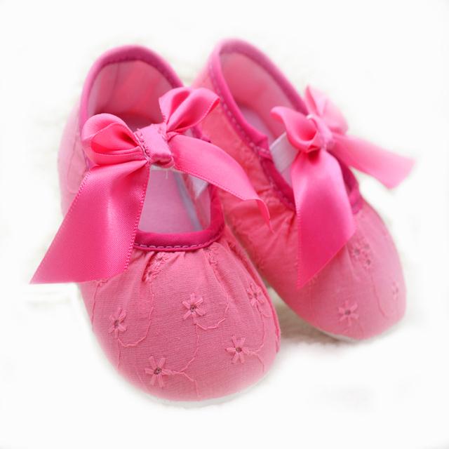 2016 новый крещение крещение девушка новорожденный обувь младенческой малышей бабочка ...