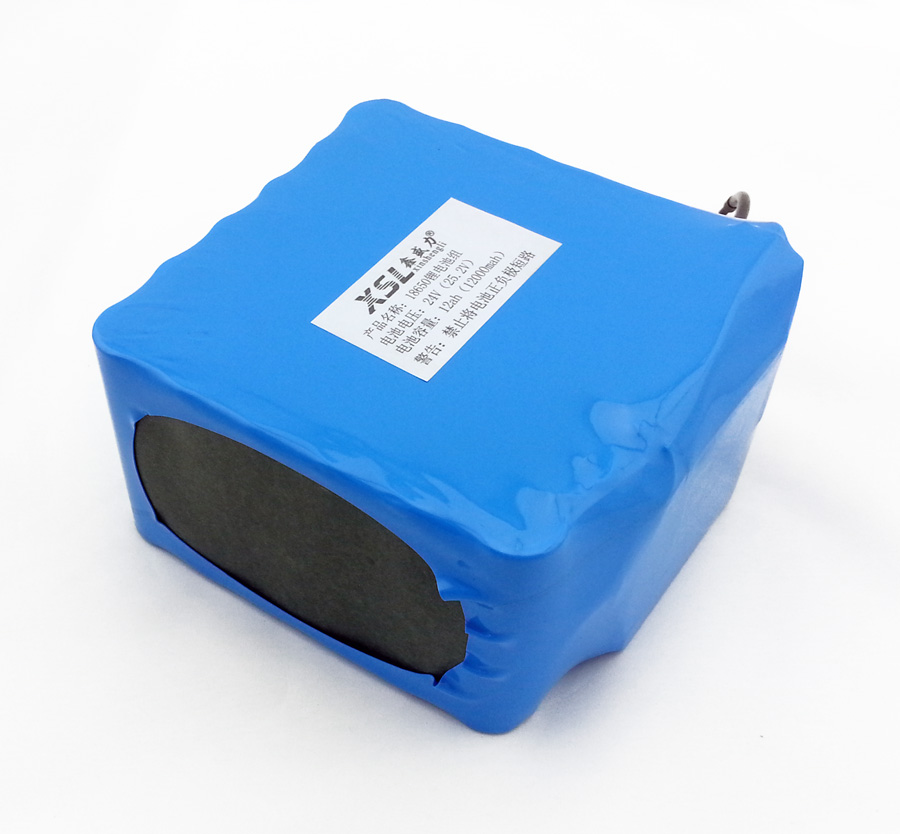 6S6P 24V12AH 18650 lithium battery / moped / motorcycle / electric car battery with a doctor / outdoor lighting + free shipping(China (Mainland))