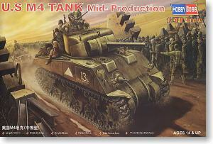 Hobby Boss 84802 1/48 U.S M4 TANK Mid -Model(China (Mainland))