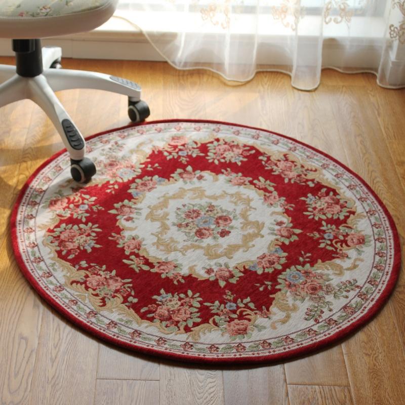 Fashion circle carpet cloth mats swivel chair computer cushion hanging basket pad(China (Mainland))