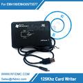 Free shipping 125khz RFID ID EM Card Reader Writer Copier Duplicater T5557 T5577 EM4305 EM4200 For