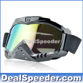 Skiing Goggles with Camera 720P HD Lens,Photo and Audio function, Memory Support Up to 32GB  Free Shipping