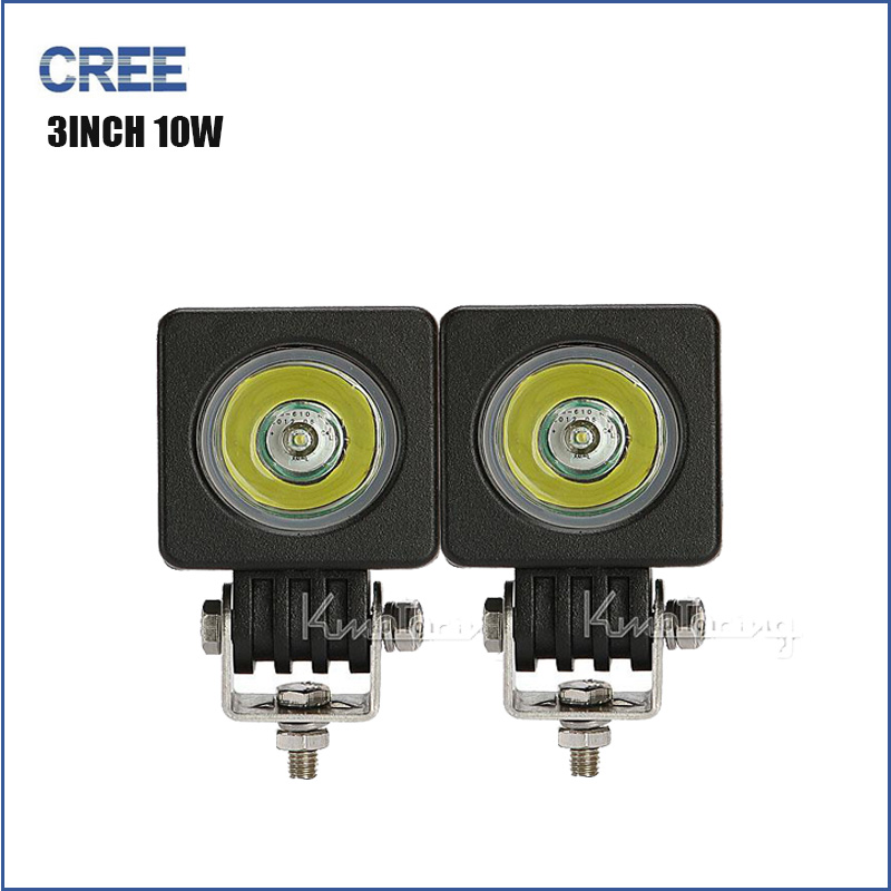 2 INCH 10W CREE LED WORK  Lamp Tractor Boat Off-Road 4WD 4x4 12v 24v Truck SUV ATV Spot Flood Super Bright 2015 WaterProof<br><br>Aliexpress