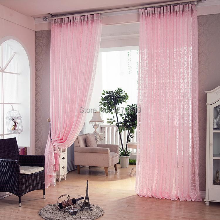 Voilage fenetre chambre fille for Rideau rose chambre fille