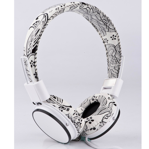 Fast Shipping Foldable High Fidelity Surround Sound Stereo Headphone Headset With Mic MP3 Phone PC Earphone(China (Mainland))