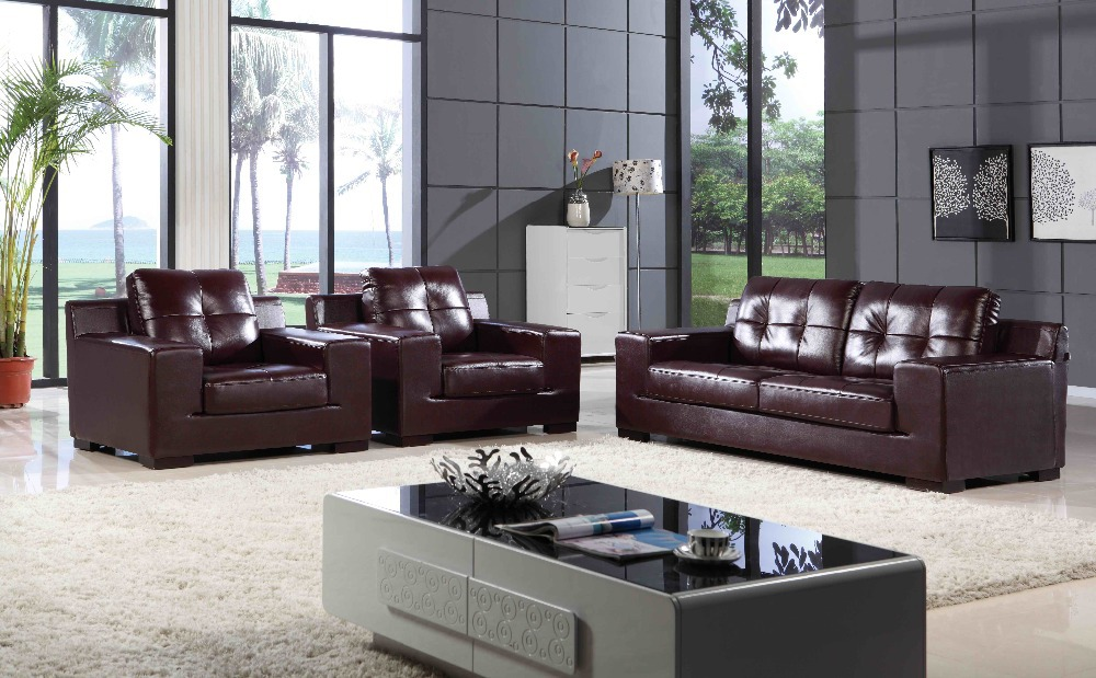 Italy Leather Sofa Sectional High quality leather sofa modern sofa living room sofa living room furniture home L.BZ1204(China (Mainland))