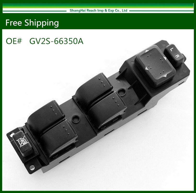 New Electric Power Window Master Control Switch For 2006-2008 Mazda 6 GV2S-66350A(China (Mainland))