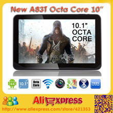 2016 Newest 10 inch Tablet PC Allwinner A83T Qcta Core 2.0GHz Android 5.1 Dual Camera 2GB RAM 32GB ROM Bluetooth HDMI+Gifts(China (Mainland))
