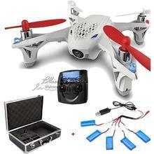 Free Shipping! Hubsan X4 H107D Quadcopter Drone Live view FPV+Hard Case Box+5X500mAh Batteries