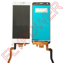 For ZTE G719c lcd screen display+touch screen digitizer assembly by free shipping; black