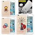 Fruit Ultra Thin Clear Phone Case Coque for iPhone 6S 6 6Plus 5S SE Soft Silicone Orange Pineapple Strawberry Watermelon Cover