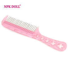 Nicety Comb For Long  Hair Wigs of Silicone Reborn Baby Doll  Hairdressing Styling Tool High Quality Free Shipping(China (Mainland))