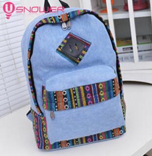 Fashion school bags canvas laptop backpacks classic rucksack mochila escolar bolsas feminina students travel - Super deal Store store