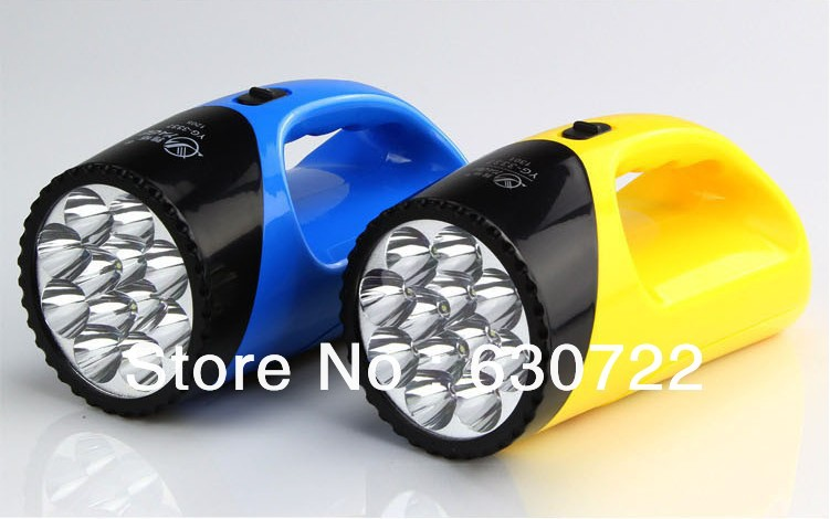 YG-3337 LED searchlight Portable lights Security light blue/yellow Ultra-durable - Dani Store store