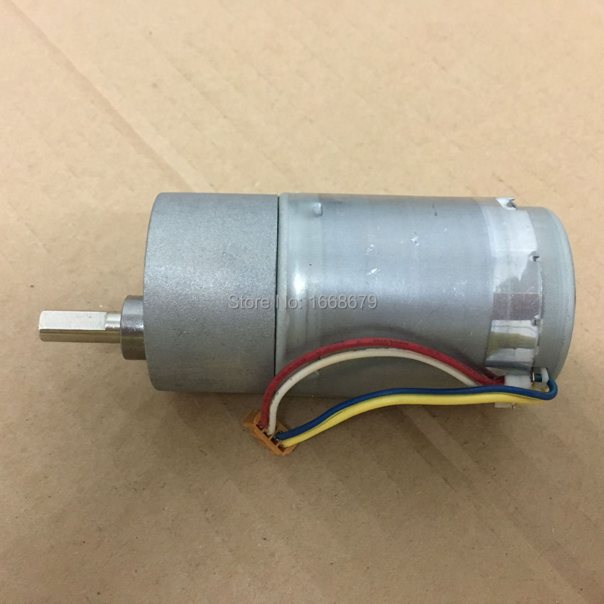 12v 10rpm powerful high torque dc electric encoder gear for Most powerful electric motor