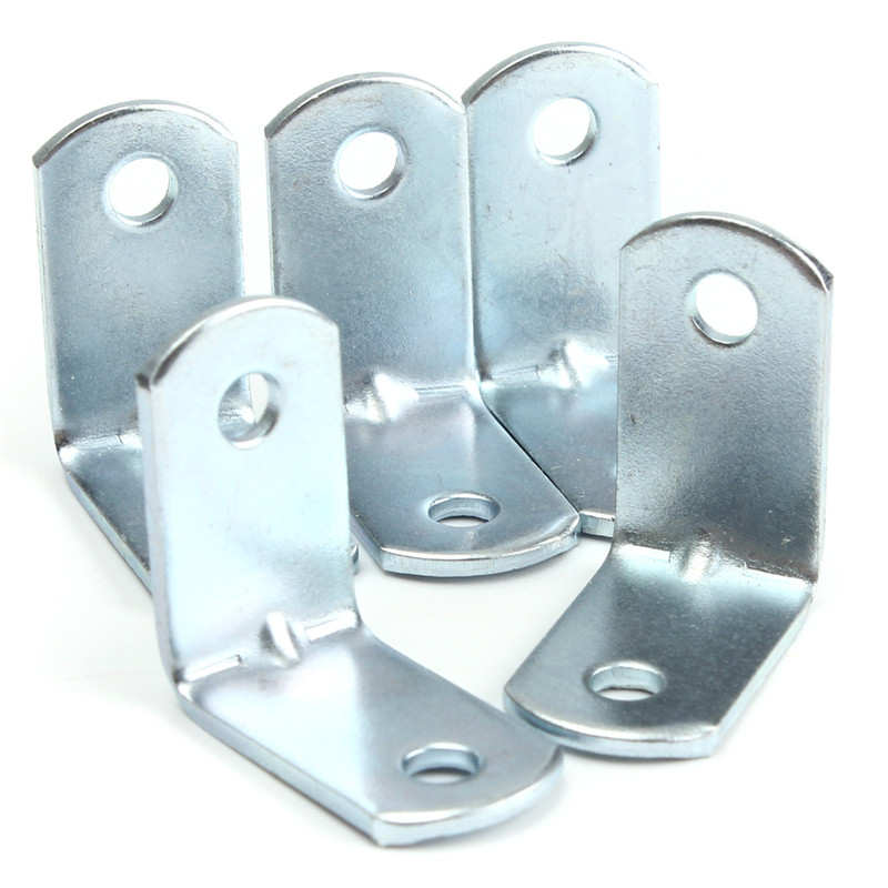 Гаджет  Wholesale 10Pcs Corner Brace 25mm Zinc Plated Angle Bracket - Woodwork Pelmet Repair None Мебель