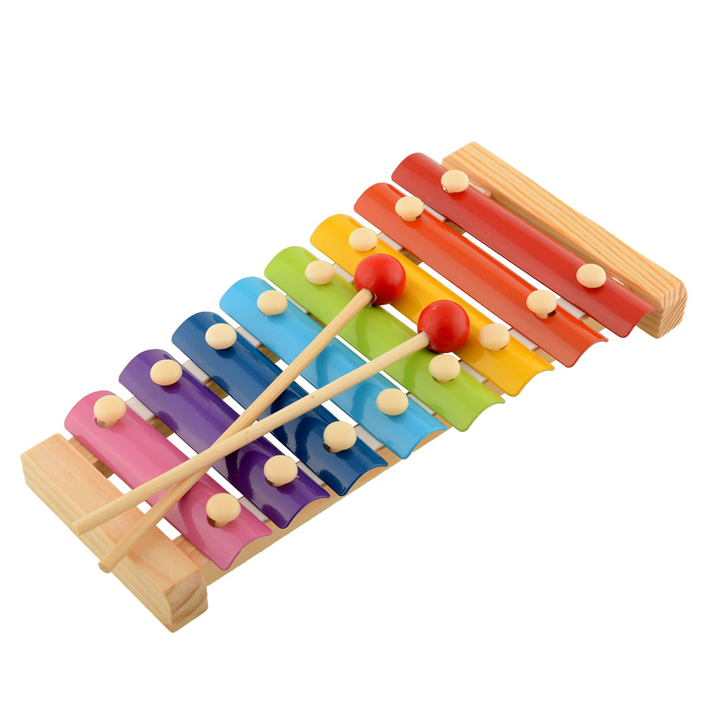 Cute baby kid tone xylophone toys wisdom development