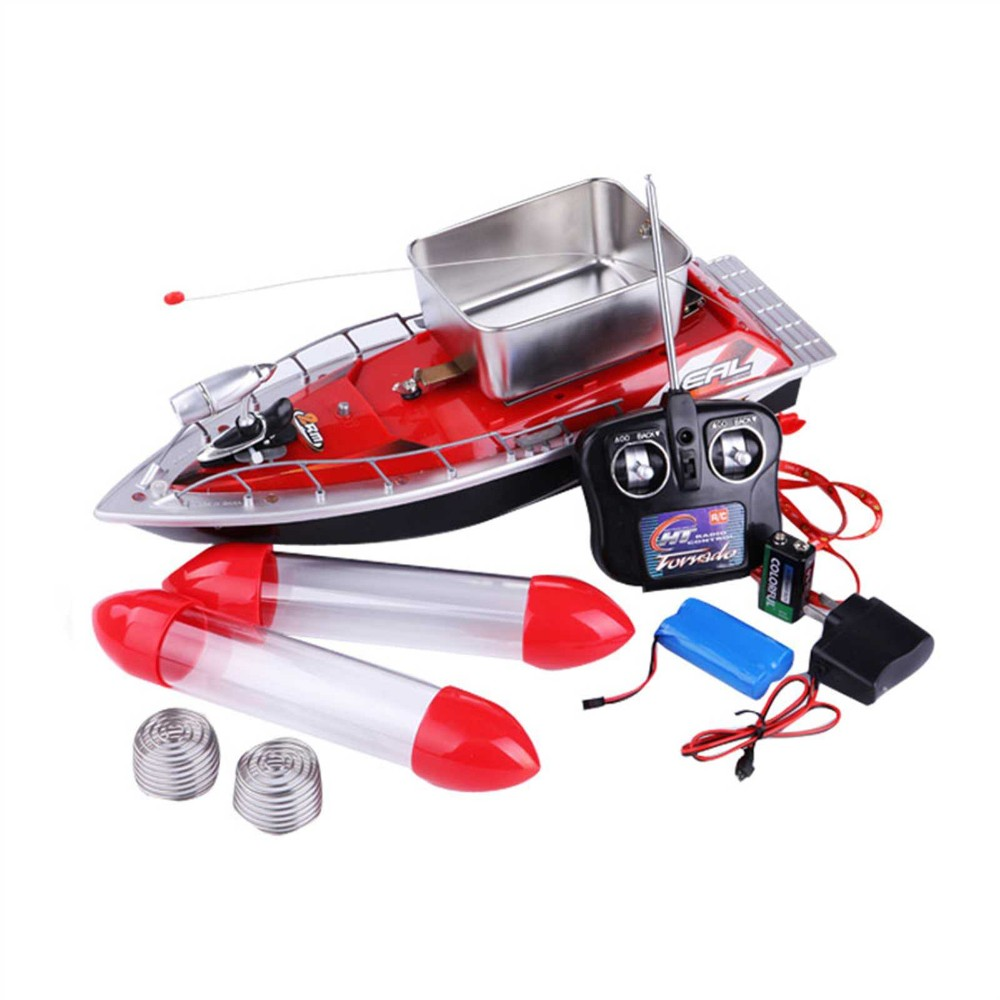 Hot sale mini remote control fishing bait boat rc boilies for Rc boat fishing
