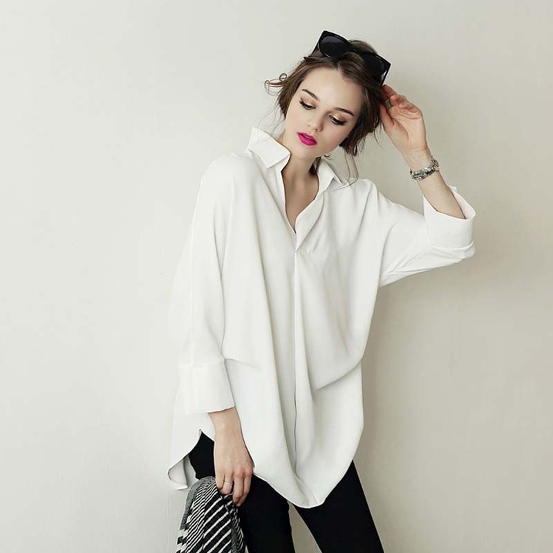 High Quality White Shirt Loose Oversized Promotion-Shop for High ...