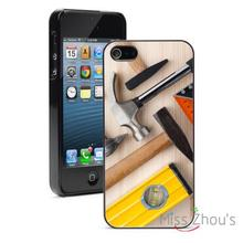 Construction Tools Protector back skins mobile cellphone cases for iphone 4/4s 5/5s 5c SE 6/6s plus ipod touch 4/5/6