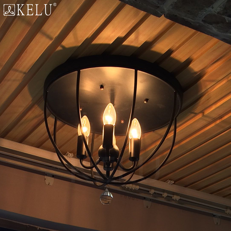 Здесь можно купить  Reminisced loft american vintage iron entrance lamp cover balcony ceiling light Reminisced loft american vintage iron entrance lamp cover balcony ceiling light Свет и освещение