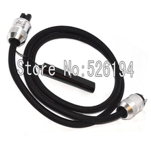 Buy Free EU/US version wel signature Solid PSS Silver 72V DBS HIFI AC Audiophile Power cable for $270.00 in AliExpress store