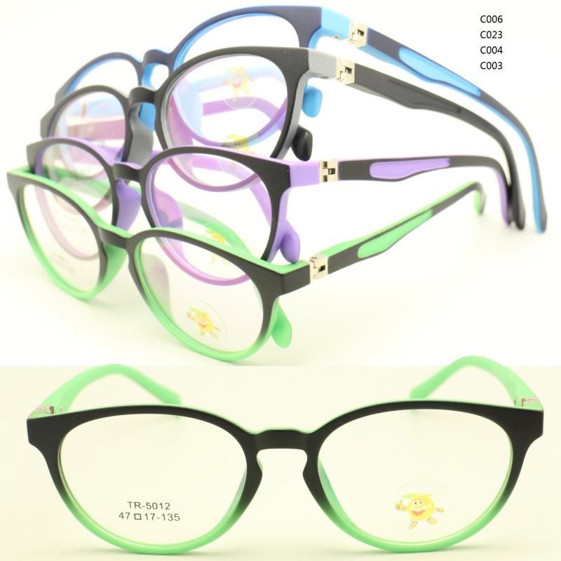 wholesale 5012 full-rim durable dual color 180 degree flexi hinge rectro unisex pupil TR90 optical glasses frame free shipping(China (Mainland))