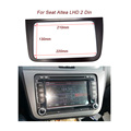 Free shipping Car Fascia for Seat Altea LHD Radio Stereo Dash Mounting Kit Styling Trim Audio