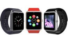 DHL Free Ship 3Pcs/Lot Cheap GT08 Smart Watch GSM Smart Watch Phone MTK6260 1.54″ HD Screen 2MP Camera SIM+TF Card Slot