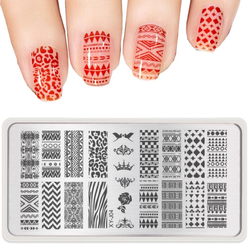 Пластины для рисунка на ногтях