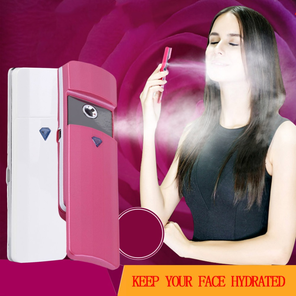 Mini USB Handy Mist Sprayer Facial Body Nebulizer Steamer Skin Care Cleans and tightens the skin keeps your face hydrated(China (Mainland))