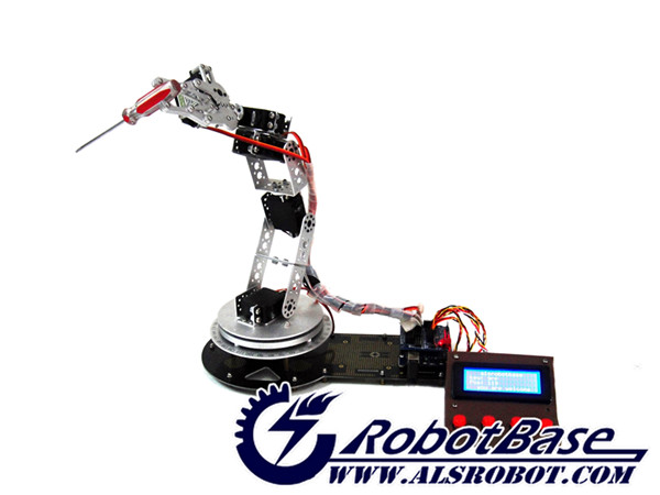 Aliexpress buy as dof robotic arm with arduino