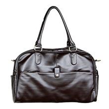 Fashion men's genuine leather travel bag,famous casual men shoulder bags,men's messenger bag, multi-function handbag bolsas(China (Mainland))