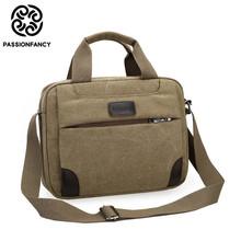 Vintage Crossbody Bag Military Canvas shoulder bags Men messenger bag men Casual Handbag tote Business Briefcase For Computer(China (Mainland))