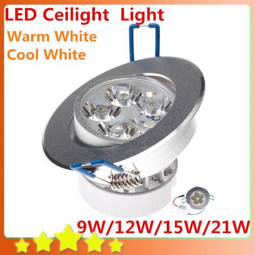 LED Ceiling Light Warm White/Cold White LED Ceiling LED ...