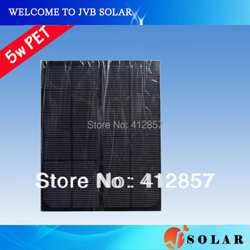 Promotion 4pcs mini small solar panel 5w 5v to 6v with monocrystalline silicon pv solar cells without frame