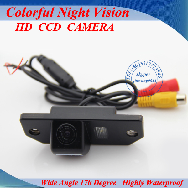 "Free shipping CCD 1/3"" Car Rear view Camera Parking Back Up Reversing Camera For Ford Focus(3)/2008/2010 For Focus(2)(China (Mainland))"