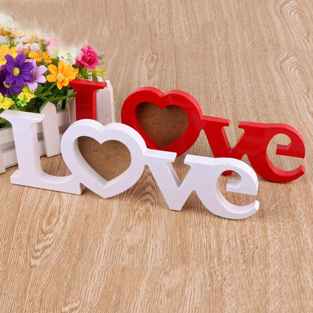 Decoration Gift Love Wooden Wedding Photo Picture Frame Wedding Gifts ...