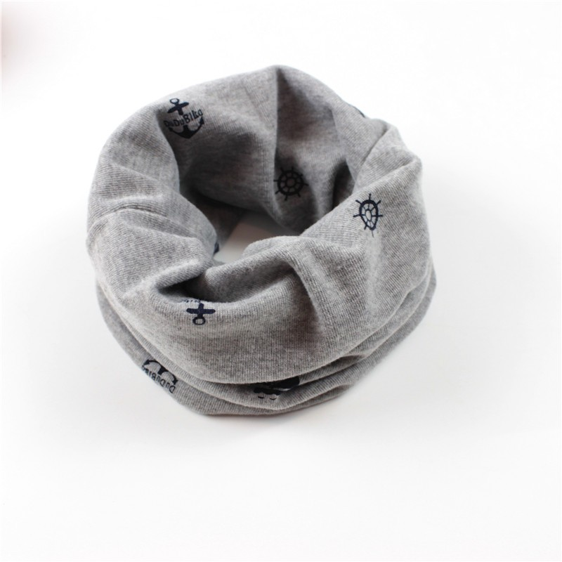 Brand design 2016 New Children's Muffler Baby Warm Scarf Boys Girls Knitted O Ring Style Kids Neck Warmer Neckerchief