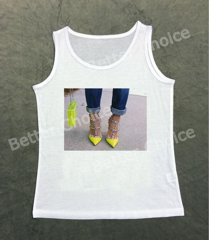 Track Ship+Fresh Vest Tank Tanks Camis Tops Top Show you My Favorite Shiny Green Bag and Shoe Shopping 0989(Hong Kong)
