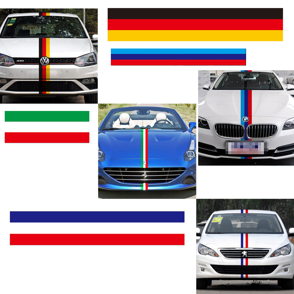 Car sticker design philippines - Car Decoration General Personality Three Color Bar Car Whole Full Body Sticker And Decal For