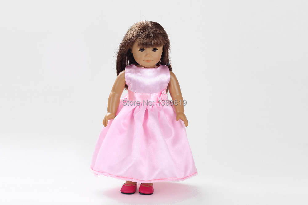 Free shipping!!! hot 2014 new style Popular 18 inches American girl doll clothes/dress w179<br><br>Aliexpress