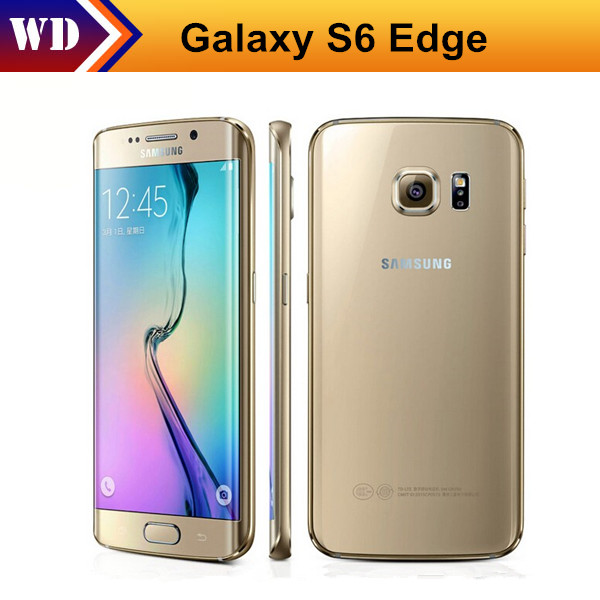 "Original Samsung Galaxy S6 Edge G925F G920F Mobile Phone Octa Core 3GB RAM 32GB ROM LTE 16MP 5.1""inch Android 5.0 Smart Phone(China (Mainland))"