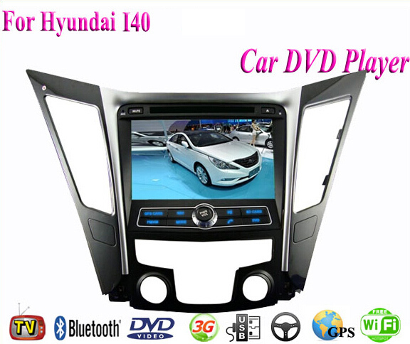 2 Din Android 4.4 Fit Hyundai I40 2011 2012 2013 2014 2015 Car DVD Player GPS TV 3G Radio WiFi Bluetooth(China (Mainland))